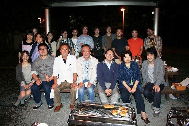 H24年BBQ会にて