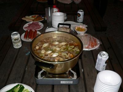 H23年度芋煮会にて