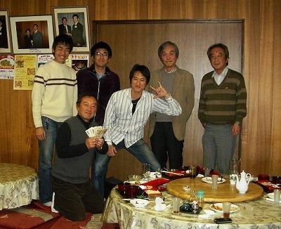 三田君送別会中華店「道」にて